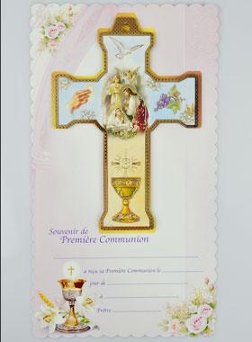 Kommunion Kreuz Madchen Andenken Erstkommunion Religiose Geschenke