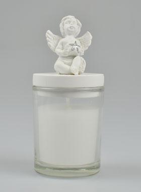 Geschenk Zur Taufe Kerzenhalter Engel Schutzengel