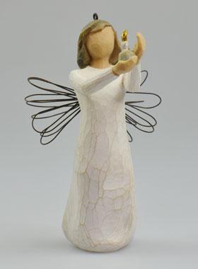 Engel Zur Taufe Willow Tree Engel Der Hoffnung Mit Kerze